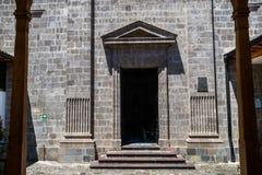 Wejście kaplica Budowa robić kamień zdjęcie royalty free