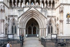 Wejście Królewscy sądy zdjęcie royalty free