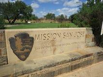Wejście misja San Jose obraz stock