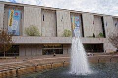 Wejście muzeum narodowe Amerykańska historia zdjęcia royalty free