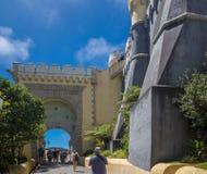 Wejście pałac da pena obraz royalty free