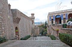 Wejście Palau Museu Marzec Obrazy Royalty Free