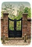 Wejście podwórze zdjęcie royalty free