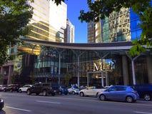 Wejście Przebijać hotel w W centrum Vancouver, kolumbiowie brytyjska, Kanada Fotografia Stock