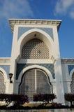 Wejście przy sułtanem Ahmad 1 meczet w Kuantan Obrazy Stock