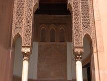 Wejście Riad iin Maroko fotografia stock