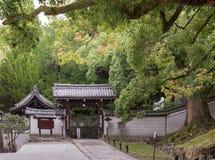 Wejście Shorenin Buddyjska świątynia Obraz Royalty Free