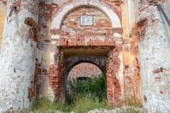 Wejście stary kościół Obrazy Royalty Free