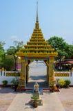Wejście Tajlandzka świątynia Obraz Stock
