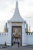 Wejście Thailand uroczysty pałac Zdjęcia Royalty Free