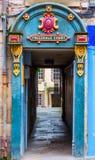Wejście Tweeddale sąd w starym miasteczku Edynburg Obrazy Royalty Free