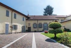 Wejście urocza Włoska willa Fotografia Stock