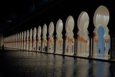 Wejście Uroczysty meczet obraz stock