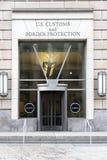 Wejście USA zwyczaje Offcie Rabatowa ochrona i obrazy stock