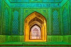 Wejście Vakil meczet w Shiraz, Iran obraz stock