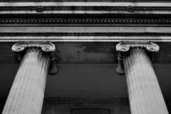 Wejście w historia budynku w Birmingham śródmieściu Obrazy Royalty Free