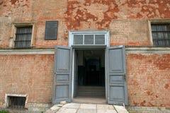 Wejście więzienie Fotografia Stock