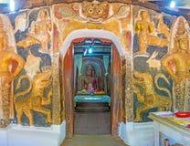 Wejście wizerunku dom Yudaganawa świątynia Zdjęcie Stock