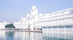 Wejście Złota świątynia, Amritsar Zdjęcia Royalty Free
