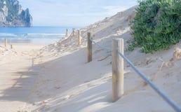 Wejściowa bariera plaża Obraz Stock