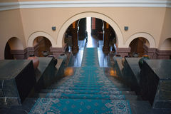 Wejściowa sala Matenadaran, Yerevan, Armenia Zdjęcia Royalty Free
