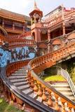 Wejściowy budynek Gupteshwar Mahadev jama Pokhara Nepal zdjęcie stock