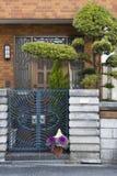 wejściowy dom Zdjęcia Royalty Free