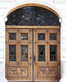 Wejściowy drzwi Obraz Stock