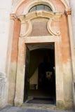 Wejściowy drzwi Dominikański kościół St Nicholas Zdjęcie Royalty Free