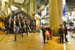 wejściowy Hong kong głównego placu czas fotografia stock