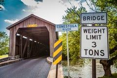 Wejściowy młyn Zakrywający Hunsecker most zdjęcia stock