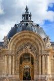 Wejściowy Mały pałac Paryż Obrazy Royalty Free