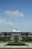 Wejściowy widok Masjid sułtan Mizan Putrajaya Zdjęcie Stock