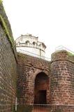 Wejście Aguada fort Zdjęcie Stock