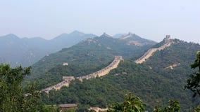 Wejście Badaling wielki mur, Pekin, Chiny Zdjęcia Stock