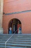 Wejście Bendigo galeria sztuki w Australia Fotografia Royalty Free