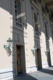 Wejście Bolshoy teatru budynek w Moskwa Fotografia Royalty Free