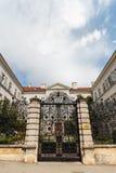 Wejście bramy chorwacja instytut historia Zdjęcia Stock