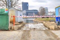 Wejście budowa minister Obraz Royalty Free