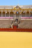 Wejście byk arena, Seville, Hiszpania Zdjęcie Stock