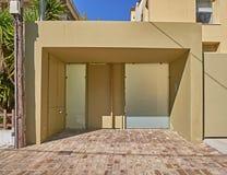 wejście do domu nowoczesnego Fotografia Royalty Free