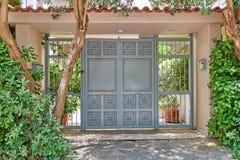 wejście do domu nowoczesnego Zdjęcie Royalty Free