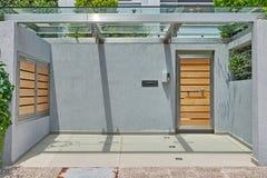 wejście do domu nowoczesnego Fotografia Stock