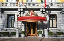 wejście do hotelu Zdjęcia Stock
