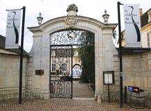 Wejście Górska chata De Pommard, Francja Obrazy Royalty Free