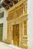 Wejście historyczny dwór w Tunis Medina Zdjęcie Royalty Free