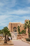 Wejście Kasba Oudania, Rabat Zdjęcia Royalty Free