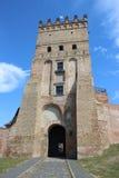 Wejście kasztel w Lutsk Fotografia Royalty Free
