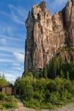 Wejście Lena filarów park narodowy Zdjęcia Stock