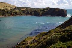 Wejście Lulworth Zatoczka Dorset Anglia Zdjęcie Stock